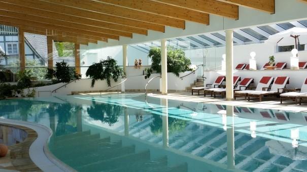 3700 qm Spabereich laden zum Wohlfühlen und Entspannen ein. ©entdecker-greise.de