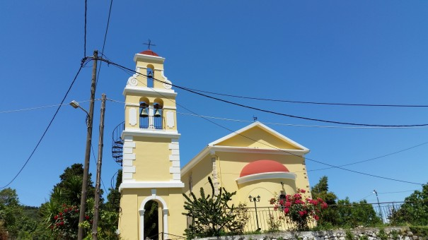 Die kleine Kirche von Pagi. #Corfelios ©entdecker-greise.de