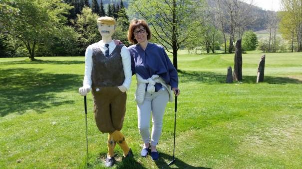 Mein Golf-Partner und ich ... war ein ganz ruhiger Typ! ©entdecker-greise.de