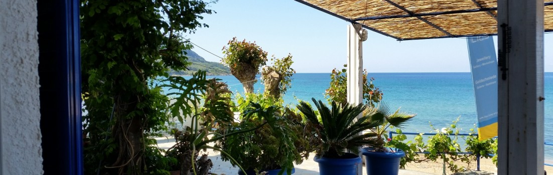 Traumhafte Kulisse bei Ileos #Corfelios ©entdecker-greise.de