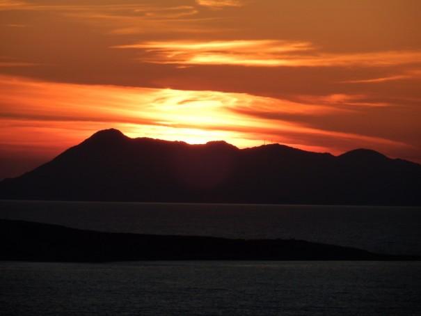 Was für ein Sinnenuntergang! #corfelios ©entdecker-greise.de