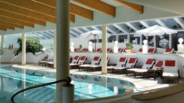 Wunderschön gestalteter Spabereich im Romantik- und Wellnesshotel Deimann. ©entdecker-greise.de