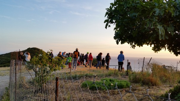 Ein wundervoller Moment, der gemeinsam genossen nochmal so bedeutungsvoll wird. Sonnenuntergang mit #Corfelios ©www.entdecker-greise.de