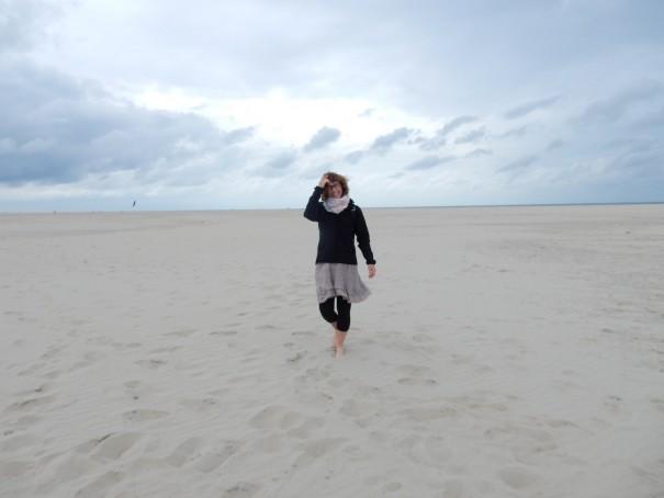Reis für die Insel? Auf Texel wird jede Art von Ballast einfach weggepustet! Wie herrlich so zu entspannen! ©www.entdecker-greise.de