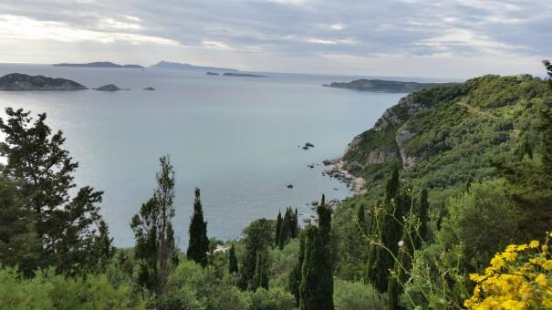 Sagenhafte Aussichten im Norden Korfus! www.entdecker-greise