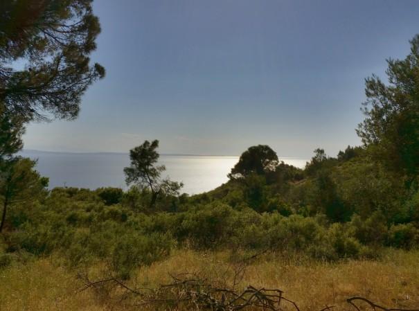 Bei dieser Aussicht auf dem Poseidon Pfad könnte man ewig verweilen ©www.entdecker-greise.de #corfelios