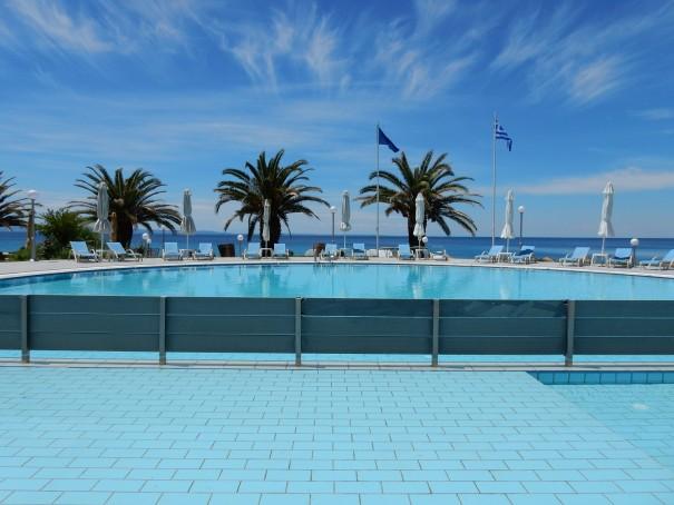 Hotel Lily Ann Beach 2 auf Sithonia, Chalkidiki, Griechenland ©www.entdecker-greise.de #corfelios