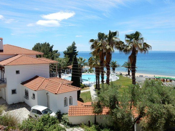 Hotel Lily Ann Beach 6 auf Sithonia, Chalkidiki, Griechenland ©www.entdecker-greise.de #corfelios