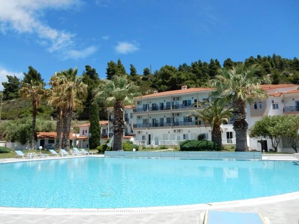 Hotel Lily Ann Beach 7 auf Sithonia, Chalkidiki, Griechenland ©www.entdecker-greise.de #corfelios