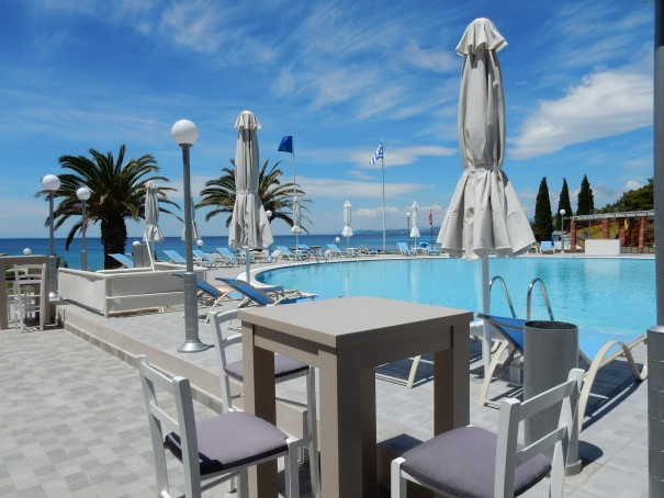 Hotel Lily Ann Beach auf Sithonia, Chalkidiki, Griechenland ©www.entdecker-greise.de #corfelios