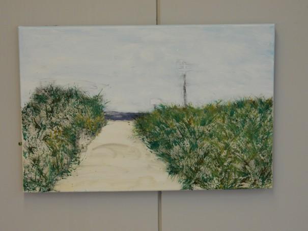 Malkurs auf Langeoog - Langsam zeichnet sich das Bild ab ... ©www.entdecker-greise.de