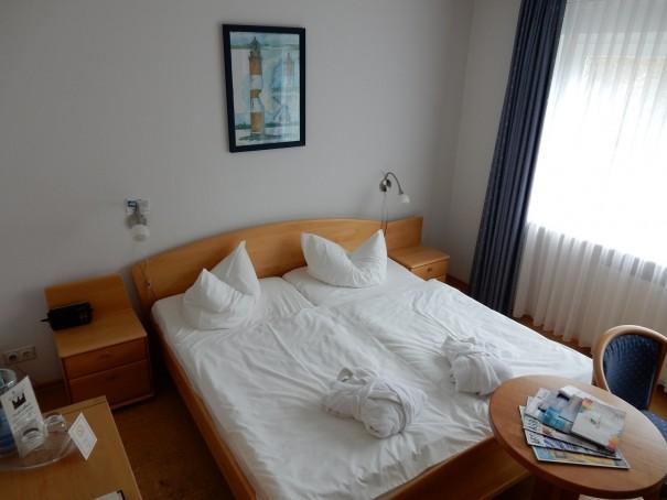 Mein Refugium im Dünenhotel Strandeck, auf Langeoog. ©www.entdecker-greise.de