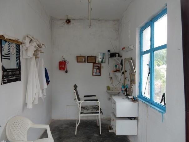 Und hier werden tatsächlich auch noch Haare geschnitten. Nikiti auf Sithonia. ©www.entdecker-greise.de #corfelios