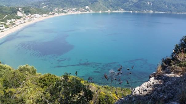 Auch der Blick auf Agios Georgios verzaubert. #corfelios ©www.entdercker-greise.de