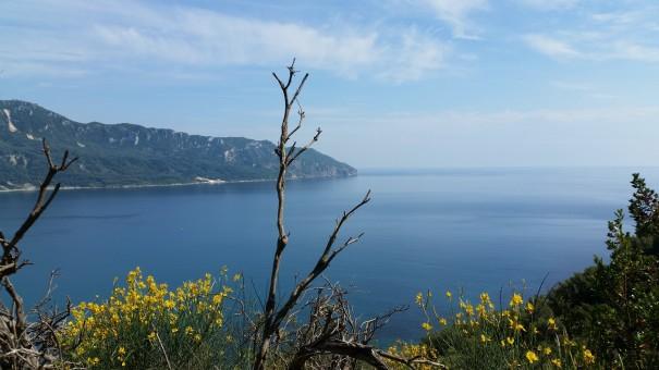 Sagenhaft - die Aussicht, die Stille, die Natur. Korfu ist ein einziges Wanderparadies. #corfelios ©www.entdercker-greise.de