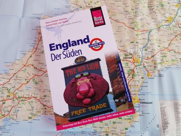 Für mich die beste Wahl für meine Südengland Reise, der Reiseführer England - Der Süden aus dem Reise Know How Verlag. ©www.entdecker-greise.de
